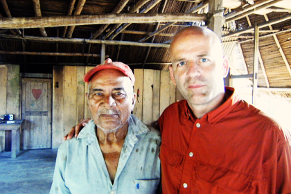 83 year old Nicaraguan medicine man, Narciso with herbalist Sam Coffman
