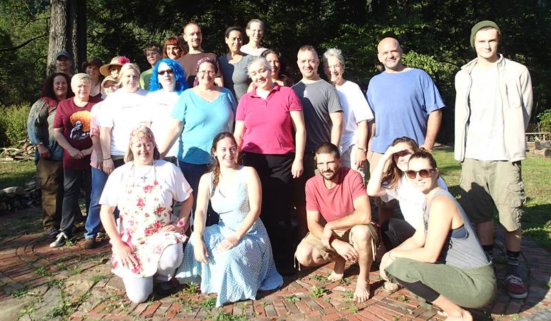 Group photo for the clinical week in Coal River Valley, West Virginia.